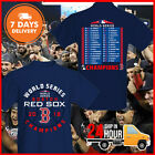 Men's Boston Red Sox 2018 World Series Champions Sinker T-Shirt Navy Cotton S-6X on Ebay