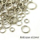 20g Mixed size jump rings - 4-8mm - choice of colours - jewellery making crafts