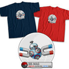 Star Wars x Pokemon Magnemite BB-8 Droid Robot Movie Cute Fun Unisex Tee T-Shirt $16.2 USD on eBay