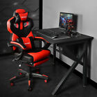 Ergonomic Gaming Chair Racing Style High Back Recliner Office Computer Desk Seat