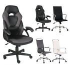 Ergonomic Gaming Racing Chair High Back Recliner Office Computer Seat w/Footrest