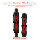 Aquarium Fish Tank Hose Pipe Quick Release Connector Water Flow Control Valve