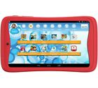 "KURIO TAB JUNIOR 7"" Kids Tablet PC 1GB Ram Android 6 Marshmallow Red 8GB + 64GB"