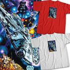 Star Wars Darth Vader Millennium Falcon Luke Skywalker Leia Unisex Tee T-Shirt $16.2 USD on eBay