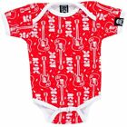 Sourpuss AC/DC Baby Romper Band Rock n Roll Kids Clothing Fully Licenced Product