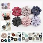 1PC Women Net Plaid Hair Ring Hair Rope Elastic Ties Scrunchie Ponytail Holder
