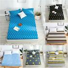 Waterproof Bedspread Antiskid Mattress Pad Mat Protector Bed Fitted Sheet Cover image