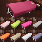 US Salon Massage Spa Bed Sheet  Table Cover Washable Comfortable Plain image