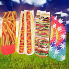 Unisex Mens Womens 3D Picture Printed Cotton Long Socks Funny Digital Stocking