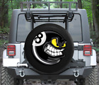 Spare Tire Cover Cartoon Angry Pool Billiards 8 Ball Wrangler RV $59.96 USD on eBay