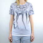 T-SHIRT WOMAN OCTOPUS W TEE REALWHITE 18SOTS02W  WHITE