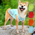 Pet Dog Outdoor Summer Breathable Vests Sportswear For Medium/Large Dogs