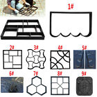 Paving DIY Paving Concrete Stepping Driveway Stone Path Mold Patio Maker Mould  image