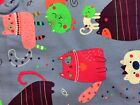 SCRUB TOP SIZES: XS S M L XL OH THOSE CATS! NWT NURSE MEDICAL VET CNA UNIFORM