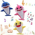 Baby Shark Plush Singing Toys Music Doll English Kids Song Gift Toy Stuffed US <br/> Only $9.99 LED & Music Version! Three colors available