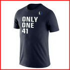 DALLAS MAVERICKS DIRK ONLY ONE 41 NAVY TEE S-6XL Made In USA Cotton T Shirt on eBay
