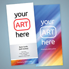 Rack Card Printing   You supply the art and we  ll print it for you