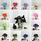 72 pcs Craft CALLA LILIES Flowers with Beads CRAFTS SUPPLIES Wedding FAVORS