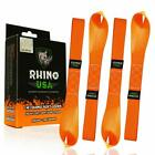 Rhino Usa Soft Loops Motorcycle Tie Down Straps (4Pk) - 10,427Lb Max Break Stren
