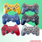 Original PS3 Playstation 3 Controller in Rot, Gold, Blau, Grau,Schwarz Dualshock