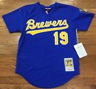 Milwaukee Brewers Robin Yount Mitchell and Ness mesh batting practice jersey on Ebay