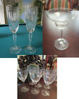 MARQUIS WATERFORD GLASSWARE MARGARITA WINE Fluted Champagne Hanover PICK 1