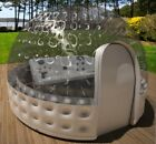 Inflatable Hot Tub Spa Solar Dome Cover Tent Structure W/ Pump & Anchors NEW