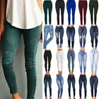 Women Stretch Skinny Denim Jeans Casual High Waist Jegging Pencil Pants Trousers