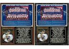 2007 New York Football Giants Super Bowl XLII Champions Photo Card Plaque $28.95 USD on eBay