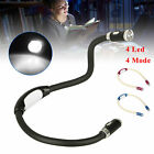 Flexible LED Neck Light Book Reading Lamp Night Flashlight Camping Light 4 Modes