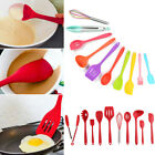 10pcs Silicone Kitchen Utensils Nonstick Cooking Baking Tool for Pot Pan Spoon