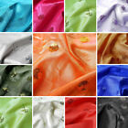 """54"""" x 12 ft SEQUINED TAFFETA FABRIC DIY Crafts Sewing Wedding Party Decorations"""