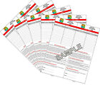Practical Geocaching® - Logs 3 or 5 PAGES of a Size  - RITR®  1/2, 3/4, 1, 2, 4
