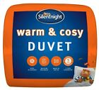 Silentnight Winter Warm and Cosy Duvet Single Double King Super K 13.5 Tog