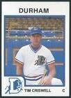 1987 ProCards Durham Bulls Minor League baseball card - Pick/Choose your player