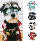 Pet Dog Hawaiian Shirt Beach Clothes Vest Floral Printed For Small Large Dog h8