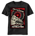 Star Wars ~ Join The Empire Support the Revolution ~ Men's T-Shirt tee $8.0 USD on eBay