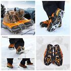 10 Teeth Ice Cleat Snow Grips Traction Grippers Anti Slip Microspikes Crampons
