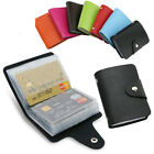 New Men's ID Credit Card Holder Pocket Case Purse Wallet For Cards PU Leather image
