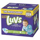 Ultra Leakguards Disposable Baby Diapers Newborn Size 1 - 6 and 124 - 252 count