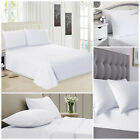 New Luxury Egyptian Cotton 200TC Flat Sheet Bed Sheets For Bedroom Single Double