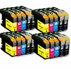 Lot LC203XL LC-203XL Ink Set For Brother LC201 MFC-J460dw MFC-J480dw MFC-J485dw