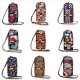 Multicolor Floral Small Cross Body Purse for Womens Shoulder Bag Girl Cell Phone photo