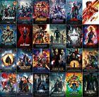 Marvel MCU Movie Poster Collection (Set of 24) Avengers Iron Man Captain America