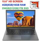 """2019 Newest15.6"""" Lenovo Laptop AMD A9 Dual Core 3.1GHz, up to 16GB RAM &1TB SSD"""