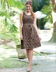 Bravissimo Crochet Details Dress by Pepperberry in Mocha Color RRP 75.00 (67)