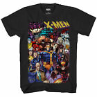 Marvel X-Men 90's Heroes & Villains All In Officially Licensed Adult T Shirt image