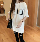 New Summer Short Sleeve T Shirt Women Fashion Casual Loose Tunic Blouse Tops Tee