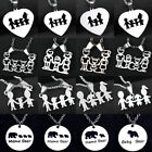 Silver Family Necklace Pendant 123 Children Best Birthday Gifts Mom Dad Kids