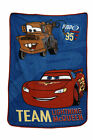Disney Cars Taking the Race Toddler Coral Fleece Blanket